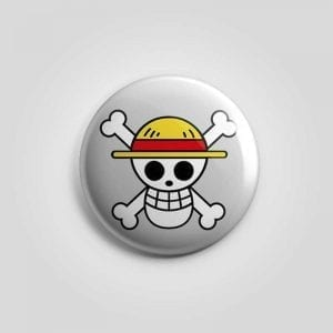 Chapas calavera One Piece