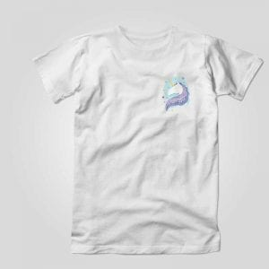 Camiseta unicornio Whatever
