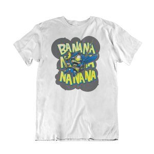 Camiseta Bat Minion blanca