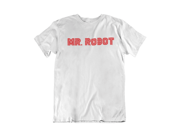 Camiseta Mr Robot blanca