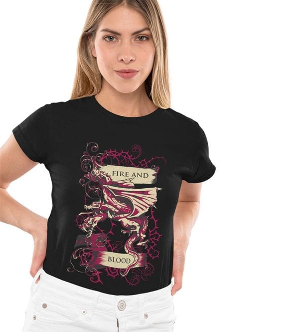 Fire and Blood negra