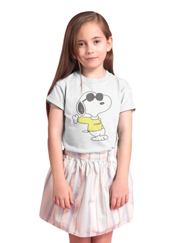 Snoopy cool camiseta niño
