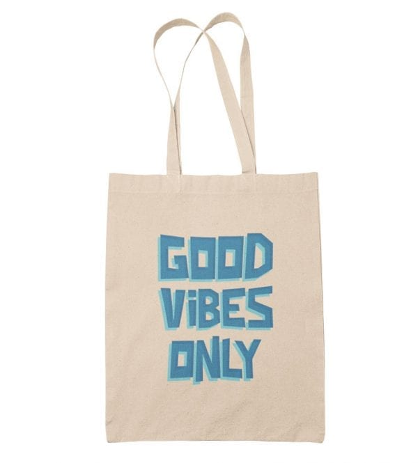 Good Vibes Only bolsa de tela