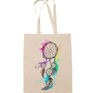 mystical dream catcher bolsa de tela